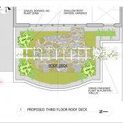 3rd floor Roof Garden concept