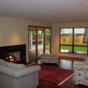 New windows/doors, updated fireplace and interior finishes