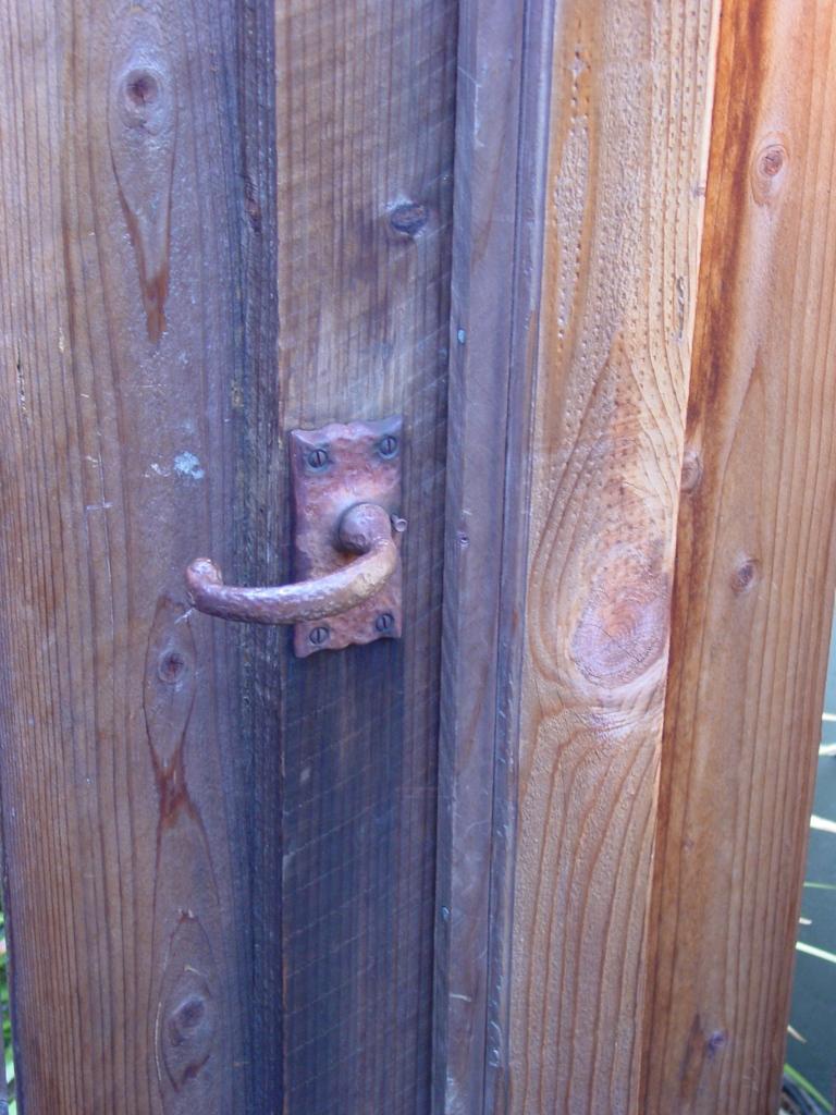garden gate handle