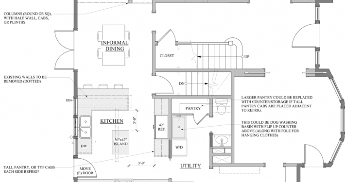proposed 1st floor plan