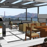 golden gate view from north beach remodel