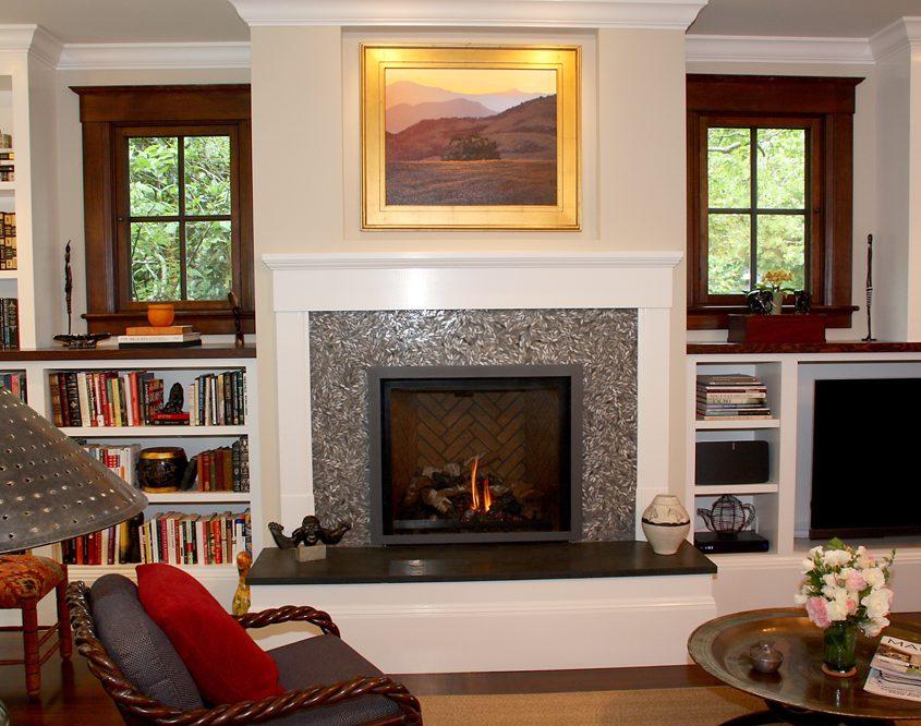 san rafael remodel fireplace
