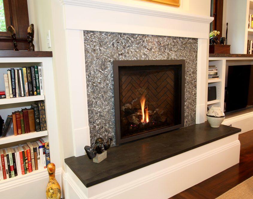 san rafael dominican remodel fireplace