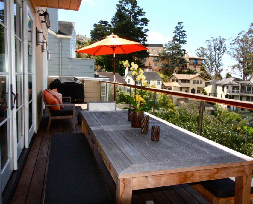 San Francisco St Francis Wood Deck