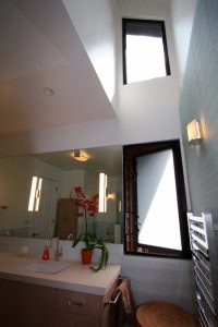 bathroom clerestory