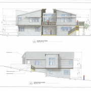 scan rear and north elevations