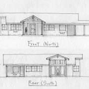 rincon valley front and rear elevations