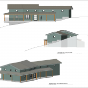 wine country elevation and schematic view drawings