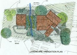 kentfield marin landscape plan new home