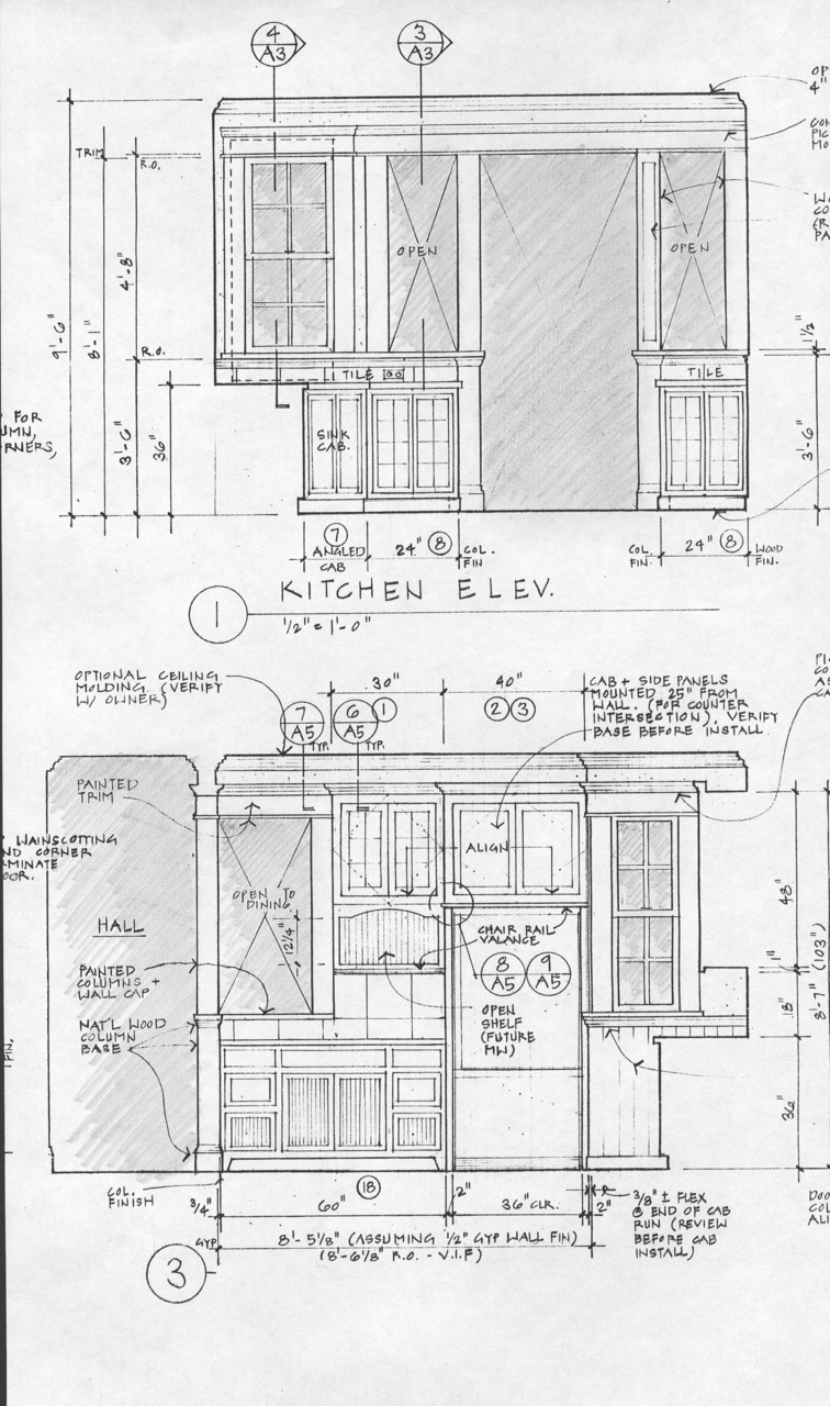 noe valley kitchen elevation