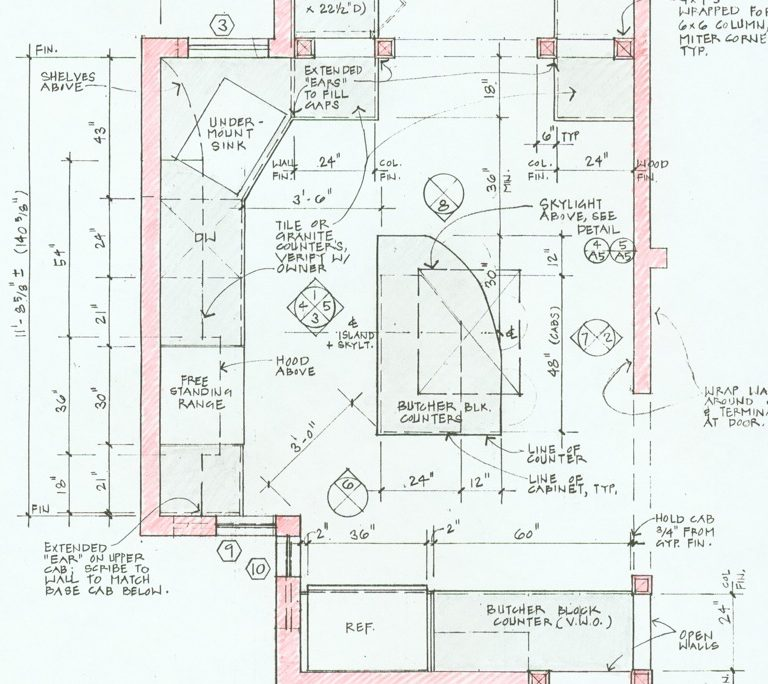 noe valley kitchen plan