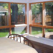View of garden from Mst Bedroom