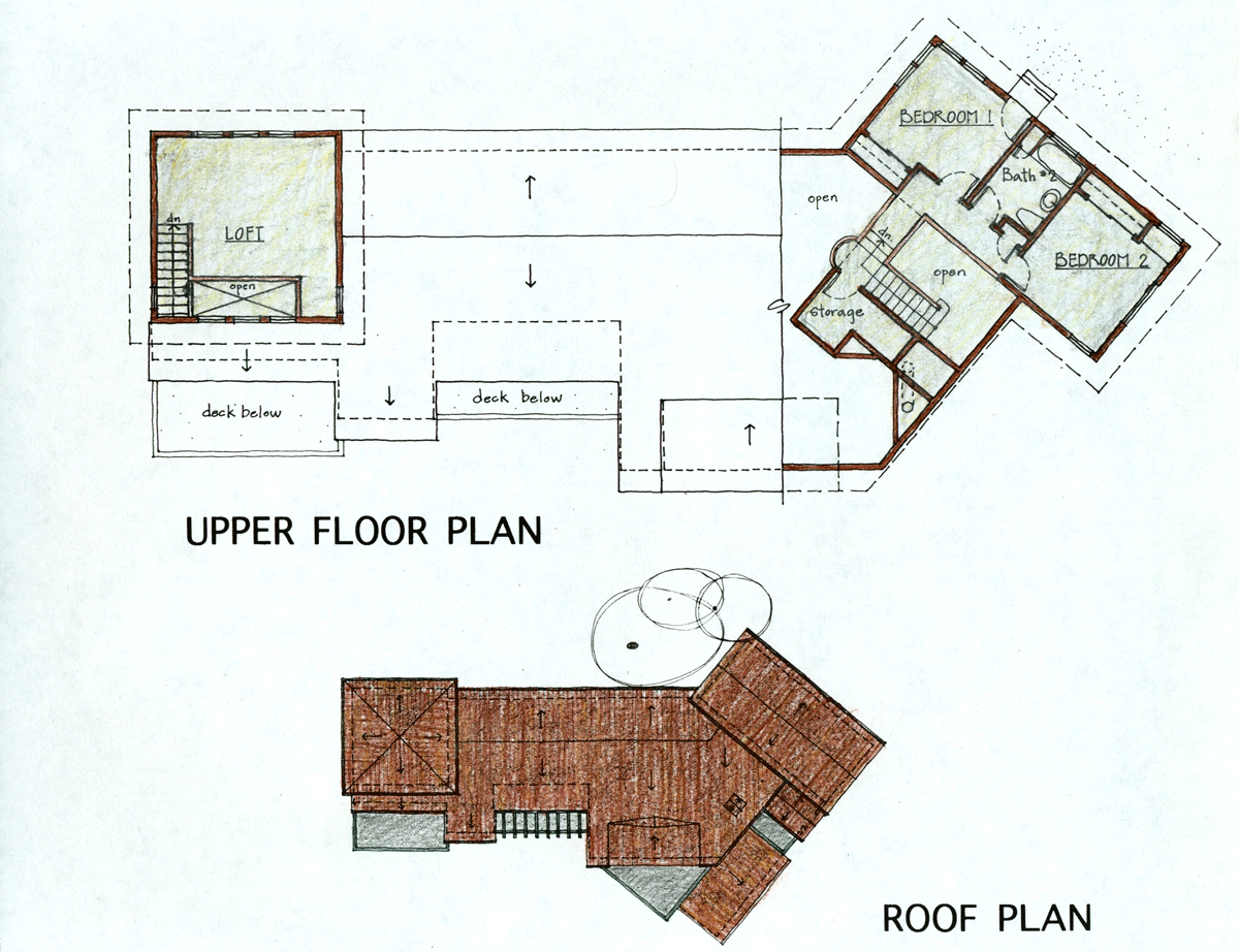 upper floor plan kentfield